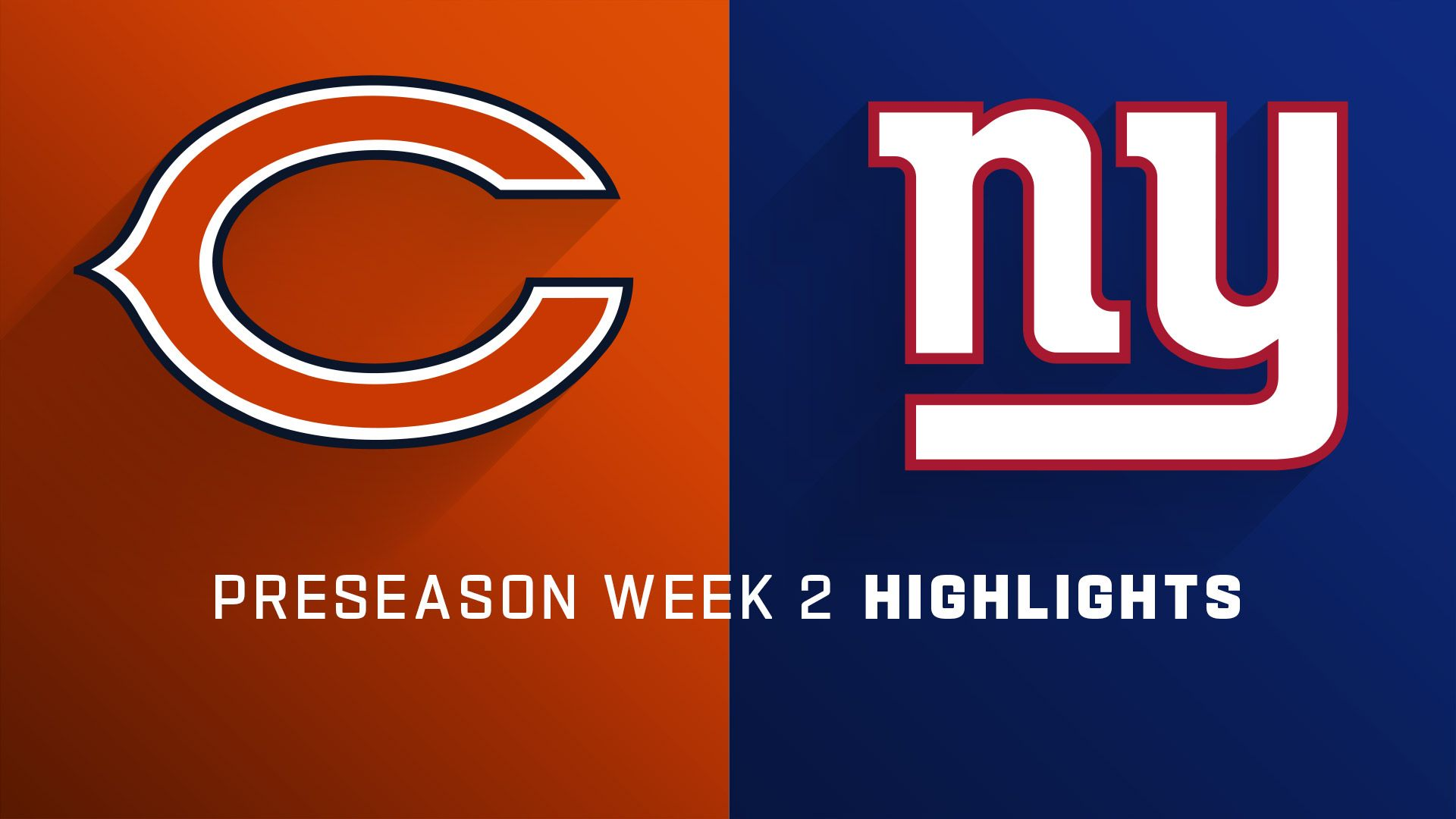 a4f79d0b Watch Chicago Bears vs. New York Giants [08/16/2019] including a ...