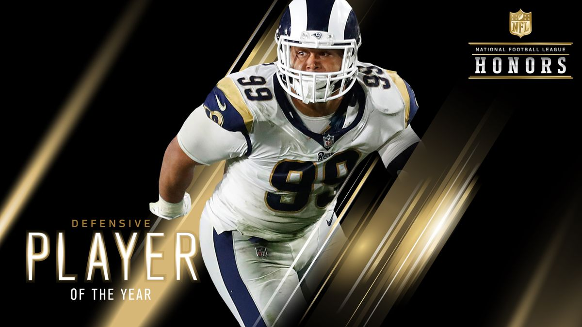 584fbbd38 Aaron Donald Defensive Player of the Year | Rams ON DEMAND